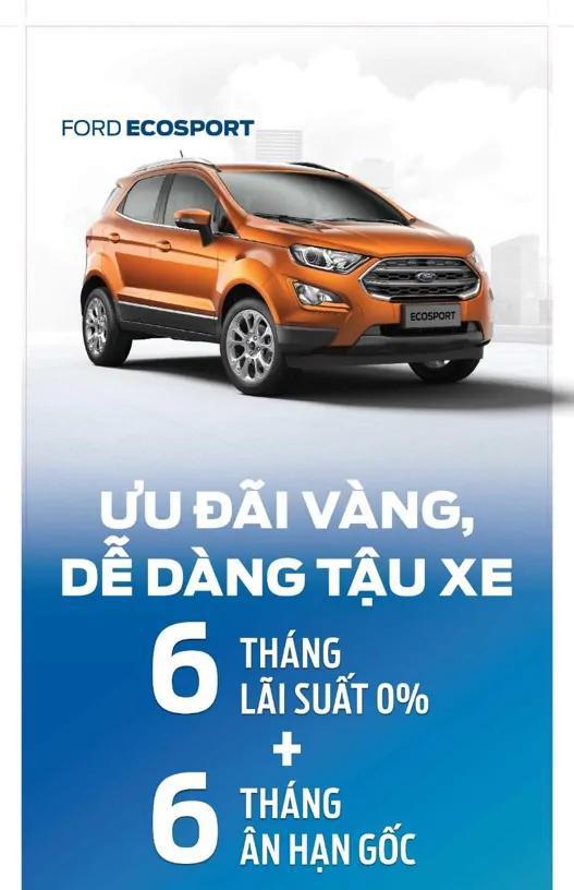 Trả Gióp Xe Ford Ecosport
