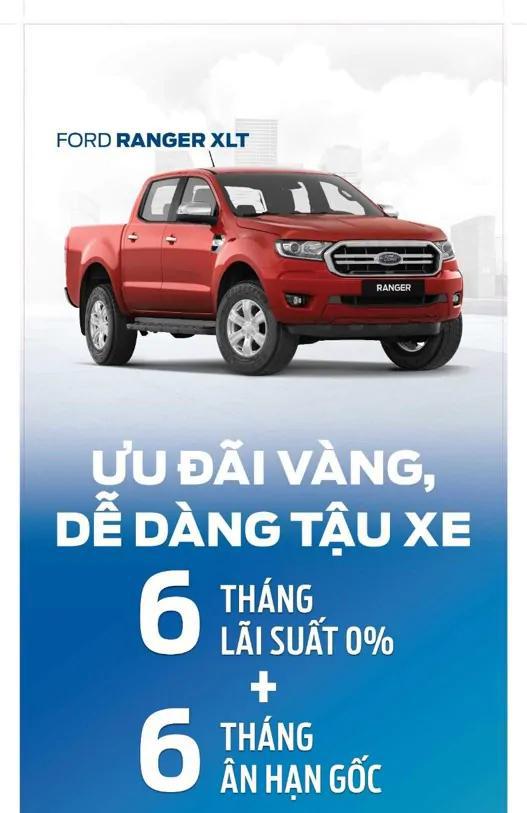 Trả Gióp Xe Ford Ranger